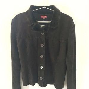 Dalia Sweaters Womens L Dark Brown Sweater Poshmark